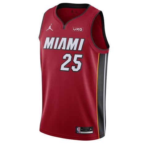 Kendrick Nunn Jordan Brand Statement Red Swingman Jersey