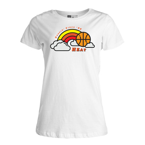 Court Culture HEAT Ladies In The Clouds Tee
