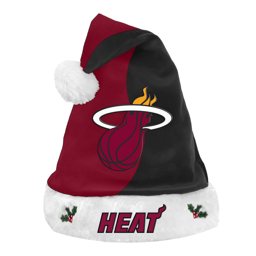 Forever Collectibles Miami HEAT Santa Hat - featured image