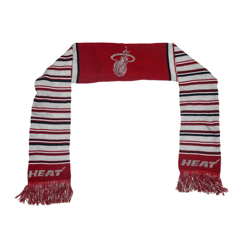 Forever Collectibles Miami HEAT Ladies Glitter Stripe Scarf