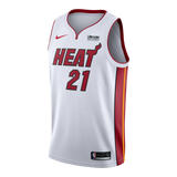 Hassan Whiteside Nike Miami HEAT Youth Association White Swingman Jersey - 1