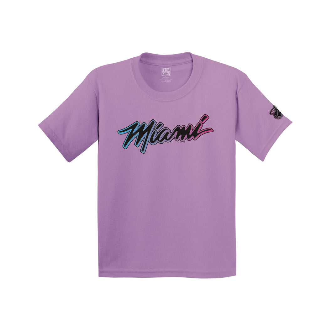 Miami HEAT ViceVersa Violet Youth Tee - featured image
