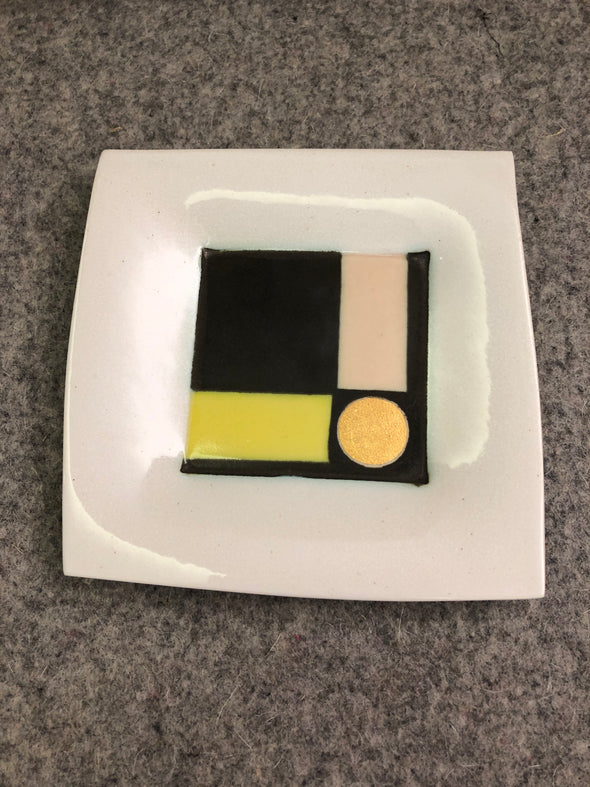 Kiara Matos Medium Geometric Square Dish