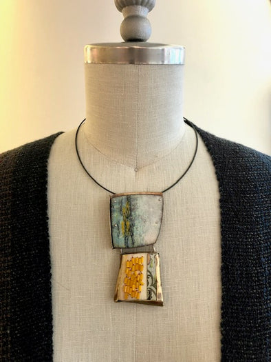 Lauren Pollaro Pendant/Pin on Necklace Wire