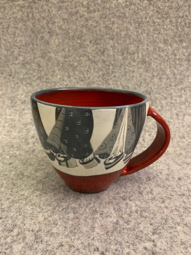 Sally Jaffee Latte Cup