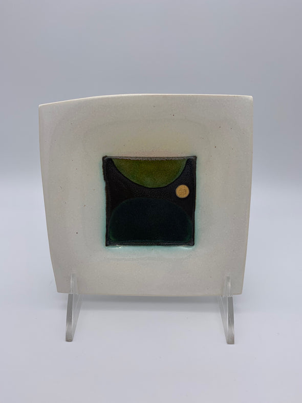 Kiara Matos - Small Geometric Square Dish
