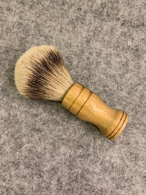 Todd Lefkowitz Myrtlewood Shaving Brush