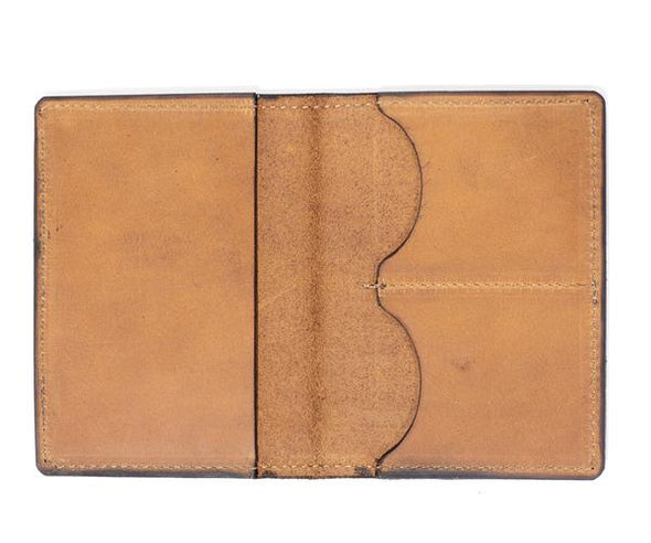 Tactile Craftworks Boston Map Passport Wallet
