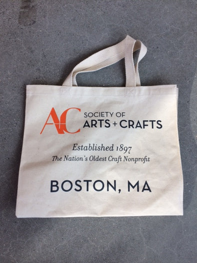 Society of Arts and Crafts SA+C Canvas Tote Bag