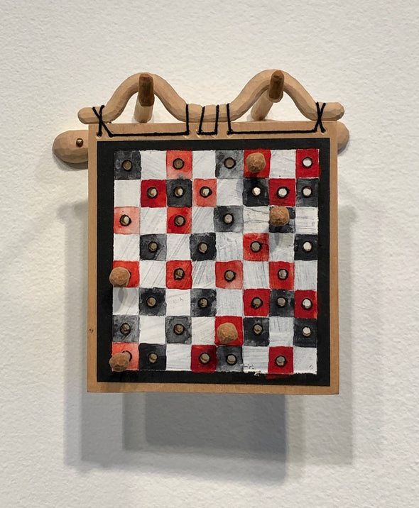 Jessica Straus Small Gameboard #1 (2010)