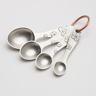 Beehive Handmade Blossom Measuring Spoon Set