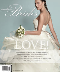 Meredith Marks in Brides Magazine