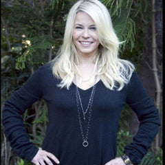 Chelsea Handler in Meredith Marks Lauralee Necklace and Angelique Ring