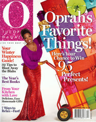 Meredith Marks in Oprah Magazine