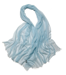 Lauren Cashmere Wrap Powder Blue