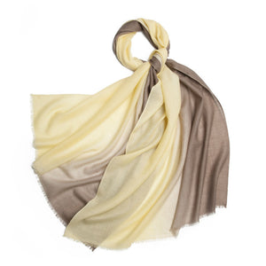 Michelle Scarf Yellow and Brown