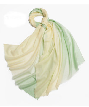 Michelle Scarf Green and Gold