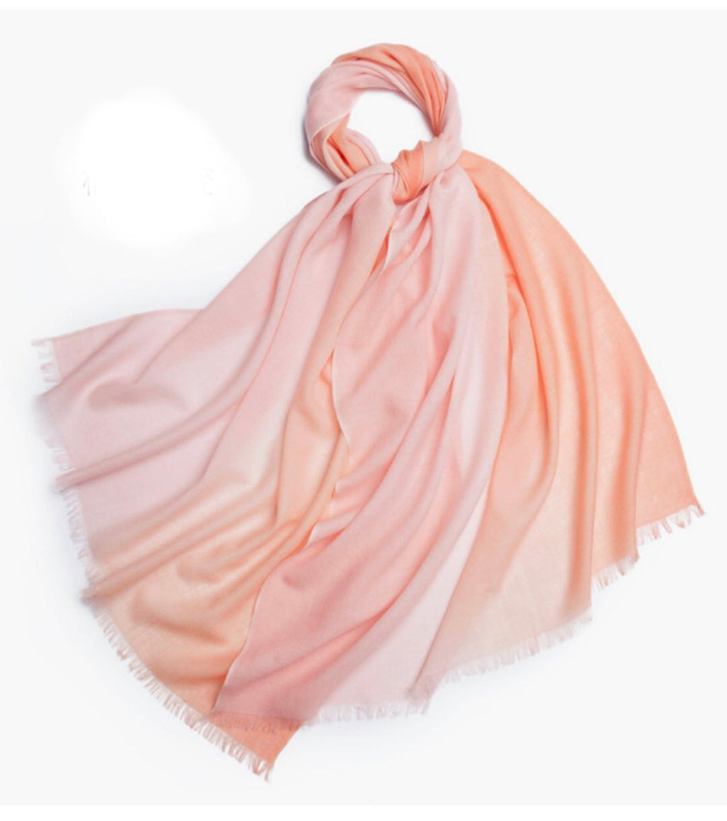 Michelle Scarf Pink and Peach