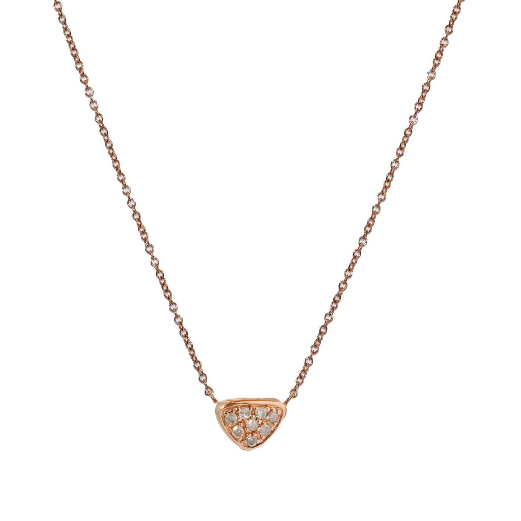 Seth Necklace 2-Sided Rose gold