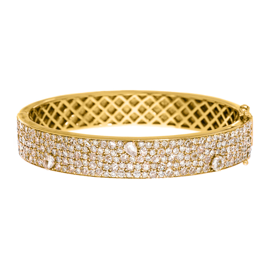 Stardust Bangle Yellow Gold