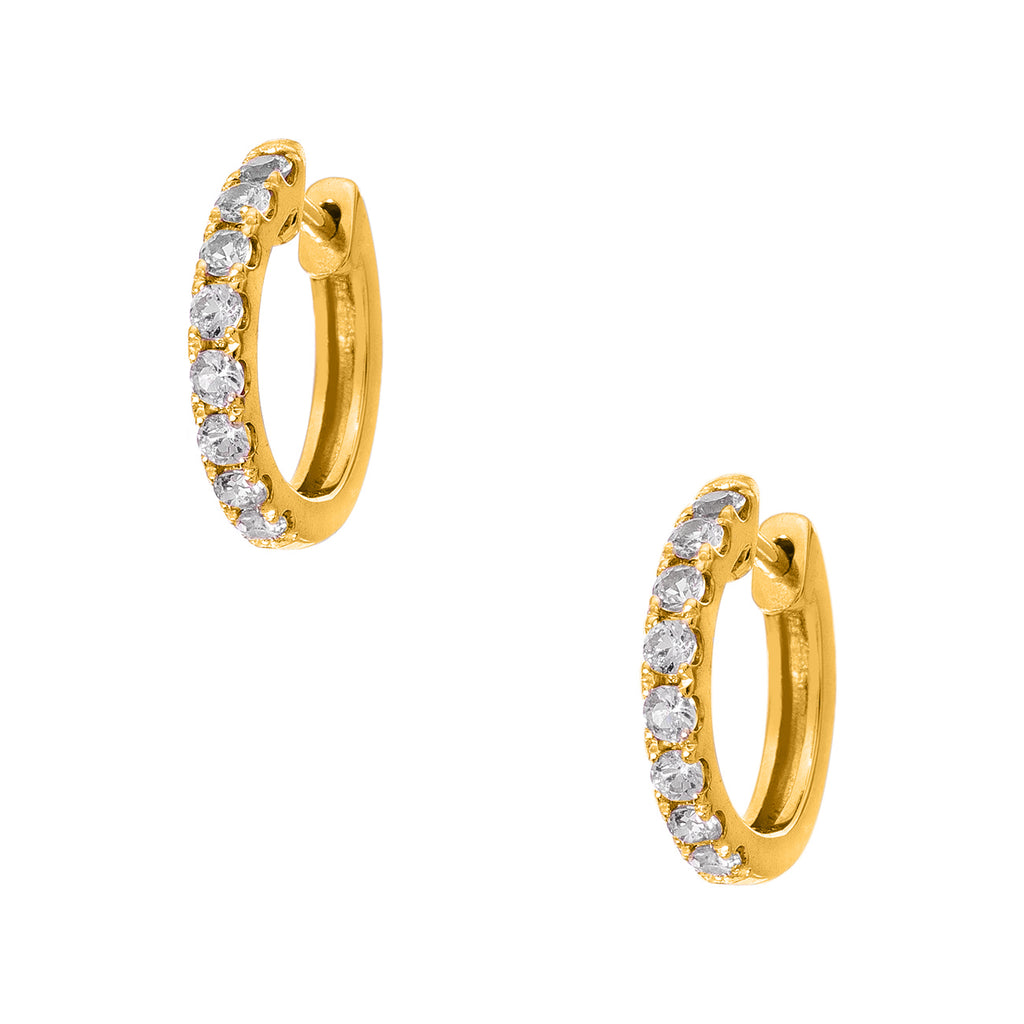Lillian Yellow Gold Diamond 2mm