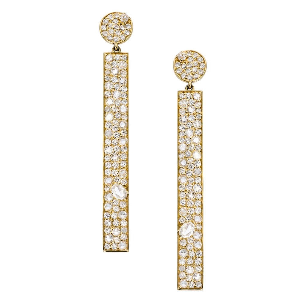 Stardust Earrings Yellow Gold