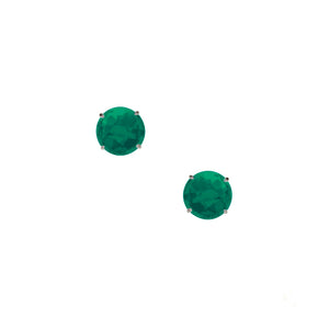 Gemma 12mm Studs Green Onyx