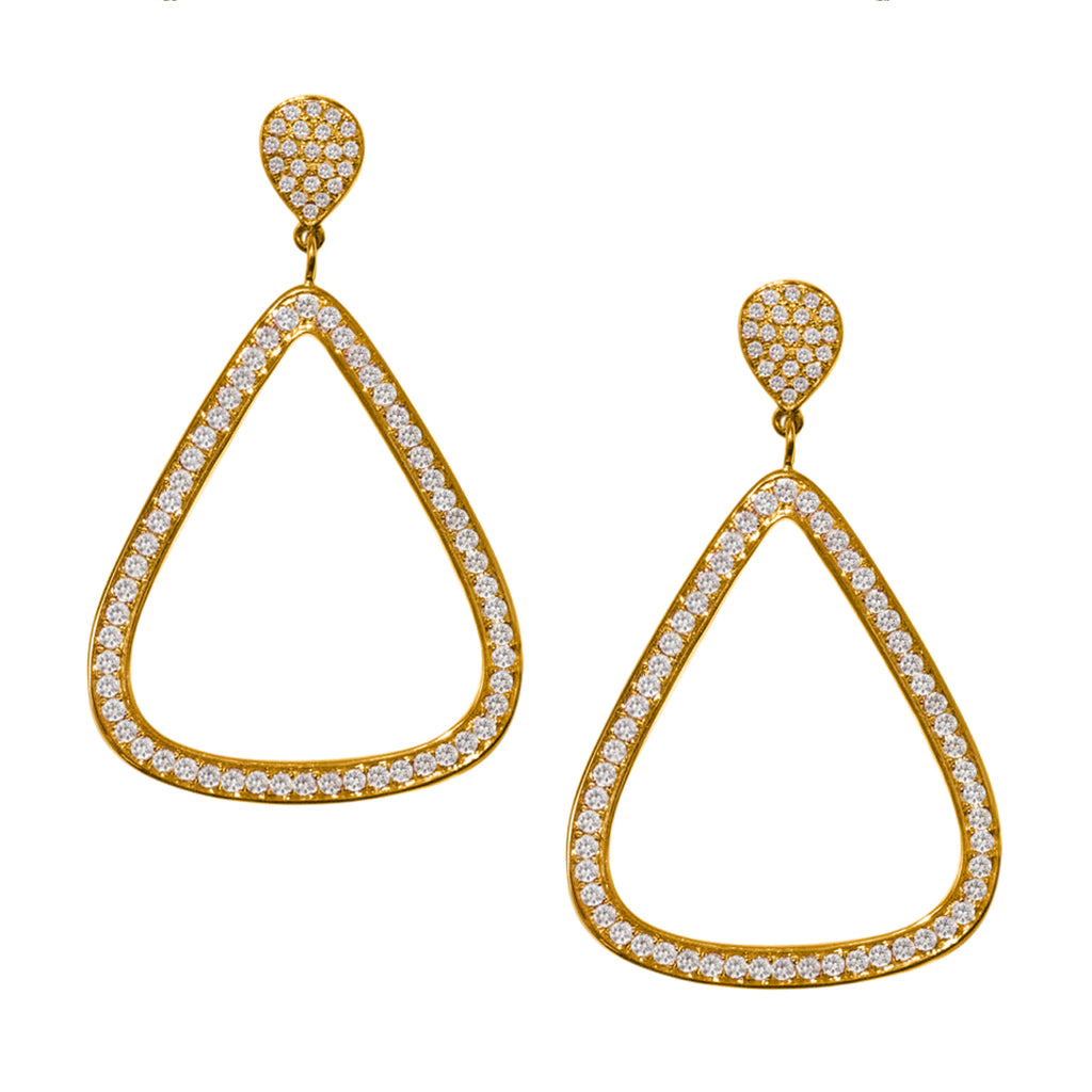 Claire Earrings Yellow Gold
