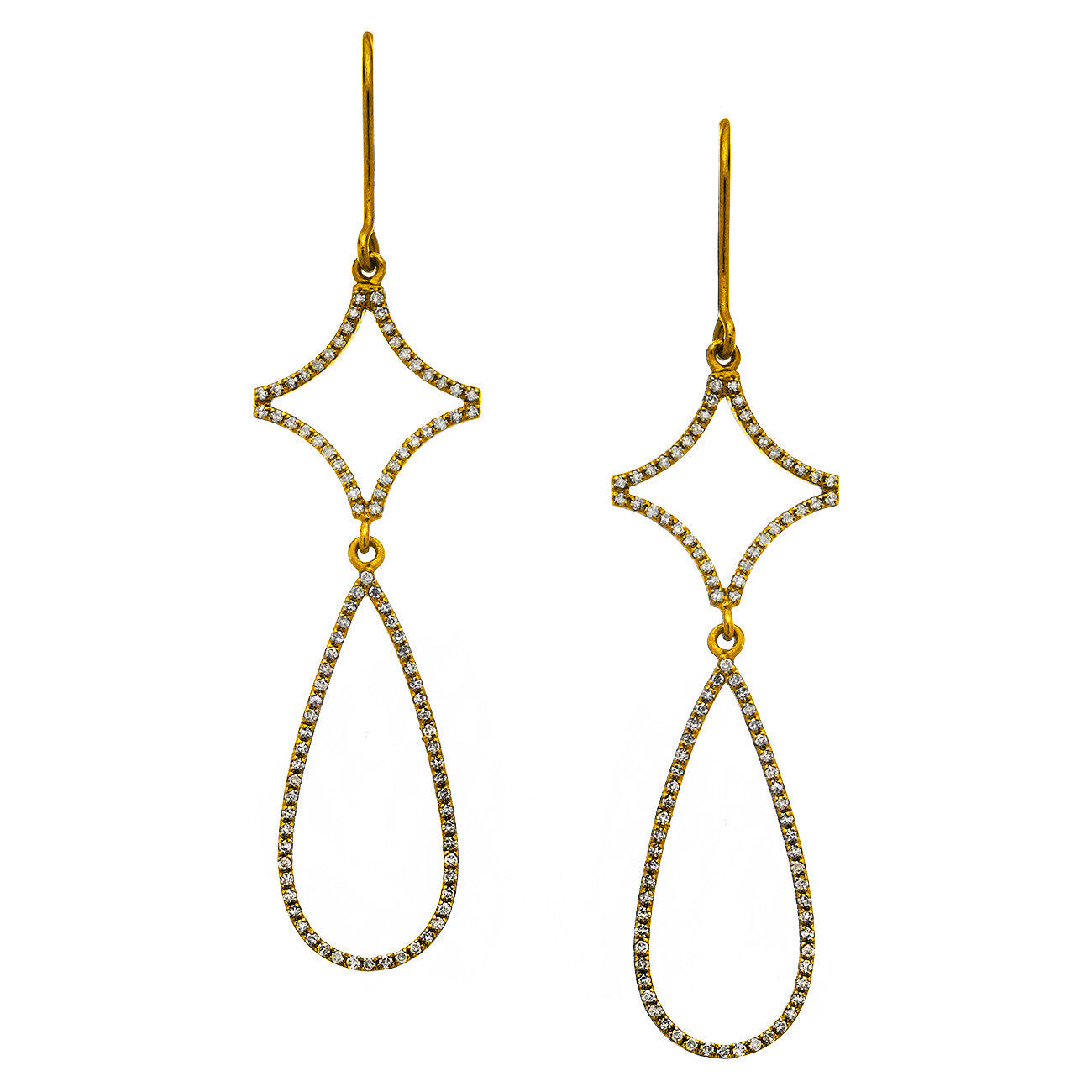 Sonia Earrings Yellow Gold