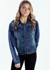 Delilah Denim Jacket Blue