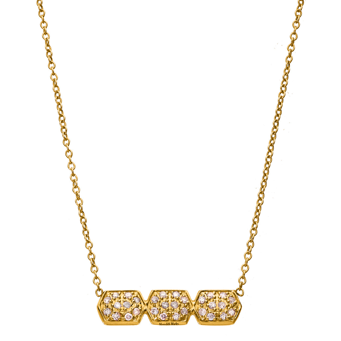 Melissa Triple Necklace Yellow Gold