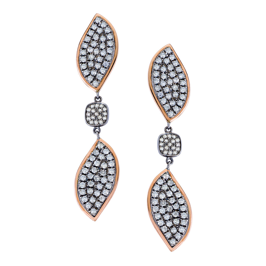 Kendra Earrings White Diamond