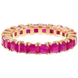 Josie Band Rose Gold Ruby