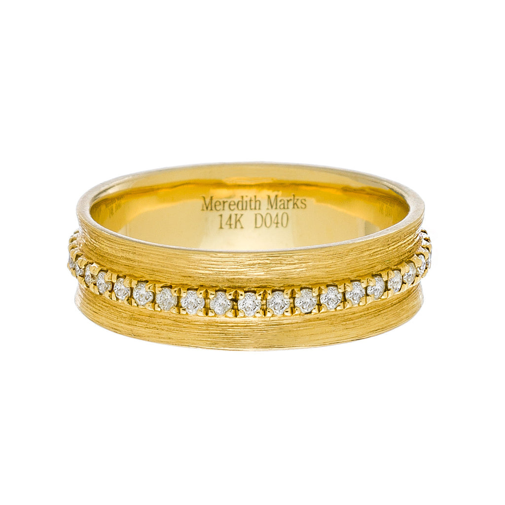 Hannah Ring Yellow Gold