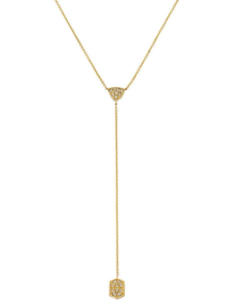 Selma Necklace Yellow Gold