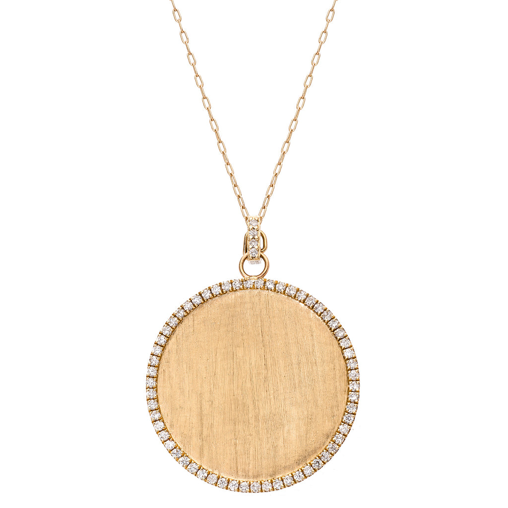 Bella Pendant Yellow Gold