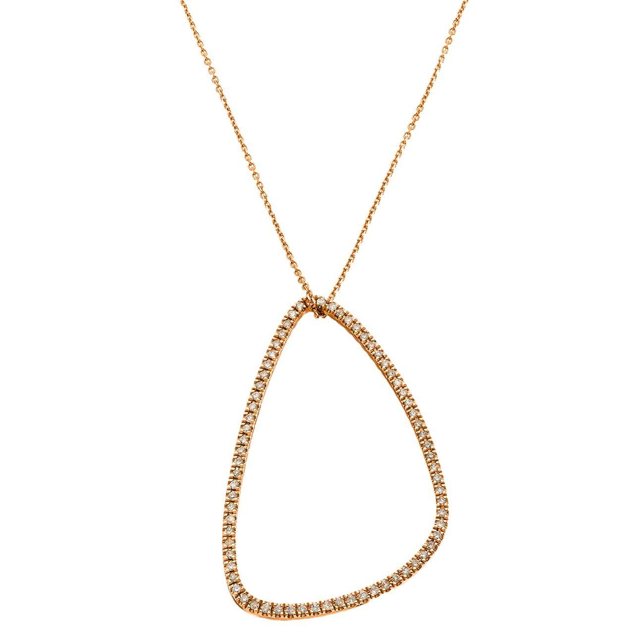 Veronica Necklace Rose Gold