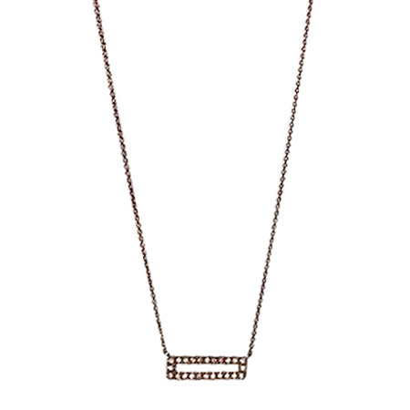 Rocky Necklace Rose Gold