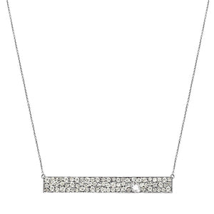 Stardust Necklace White Gold Diamond