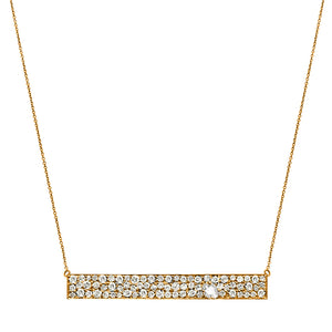 Stardust Necklace Yellow Gold Diamond