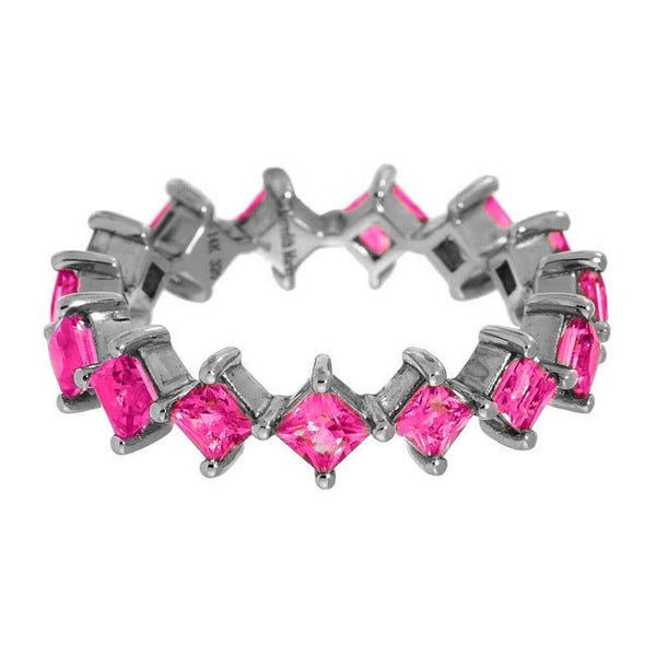 Jo Band Silver Ruby