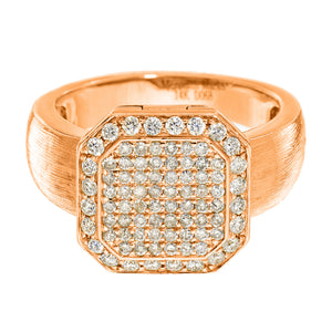 Poison Ring Petite Full Pavé Rose Gold