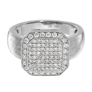 Poison Ring Petite Full Pavé Sterling Silver