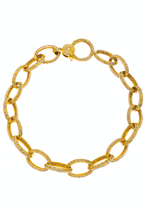 Amanda Bracelet Yellow Gold