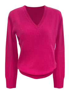 V-neck Cashmere Sweater Coulis