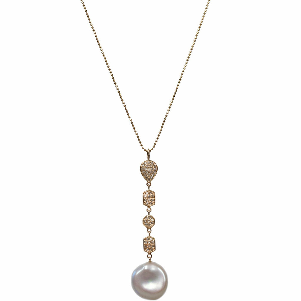 Kelly Necklace Yellow Gold