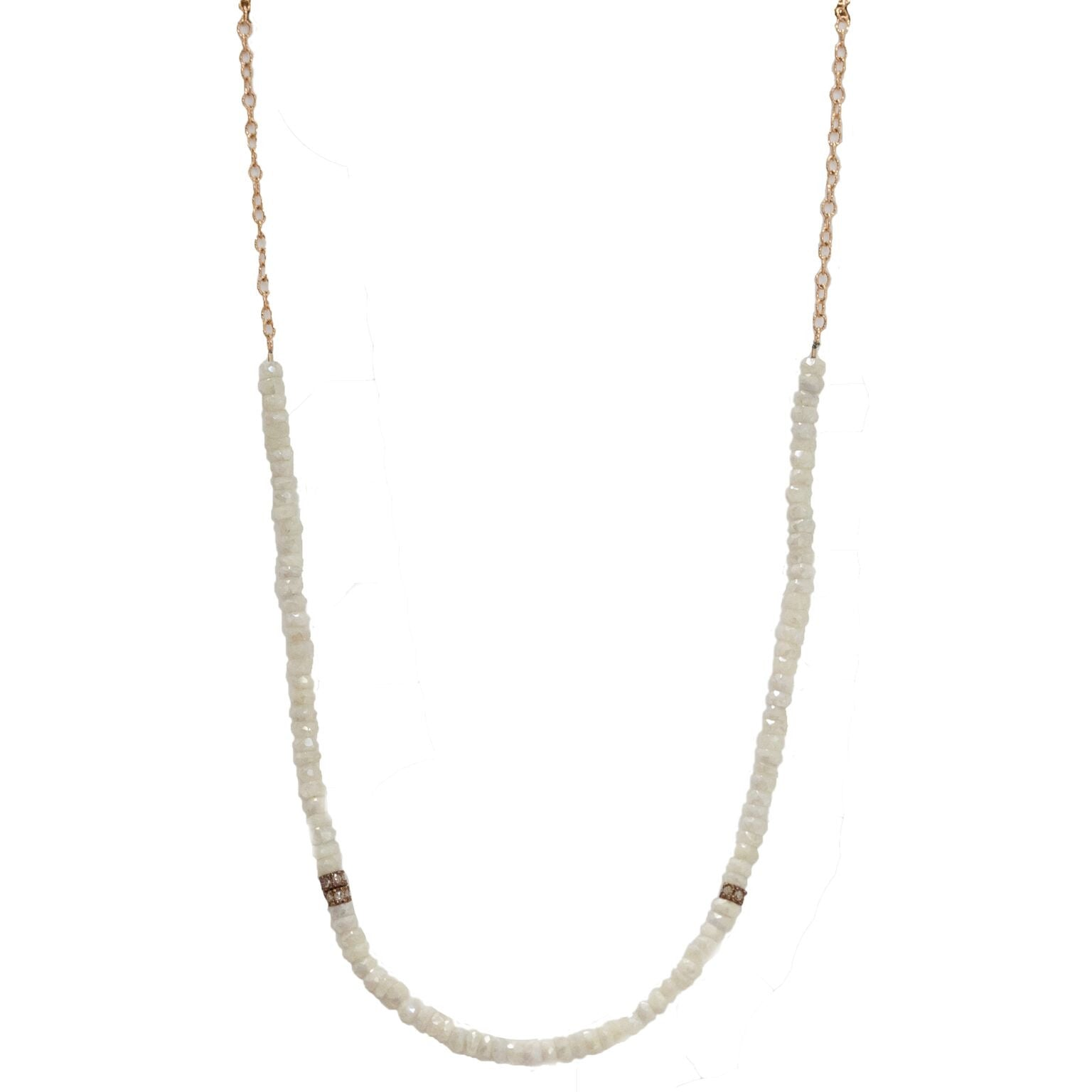 Nicolette Necklace Yellow Gold Silverite