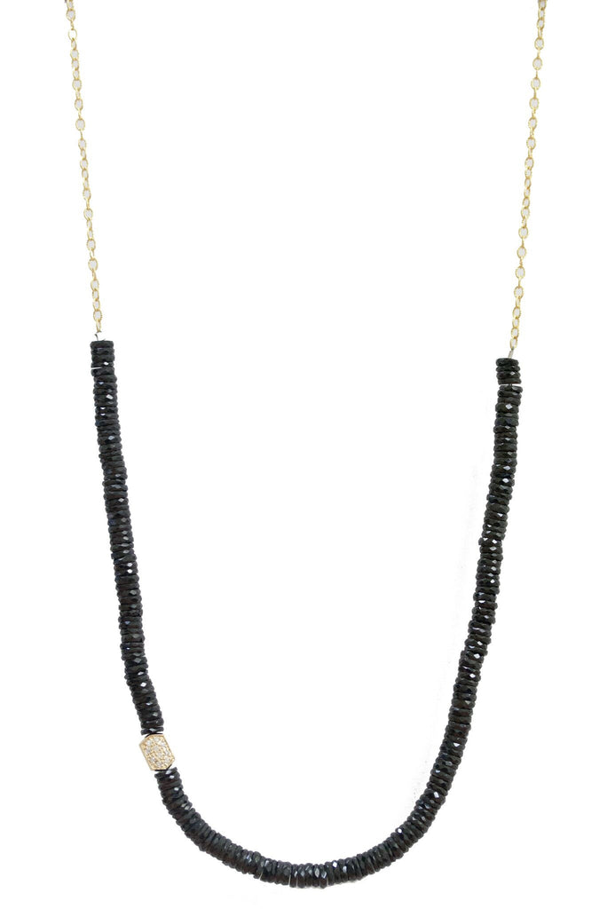 Nicolette Necklace Yellow Gold Spinel