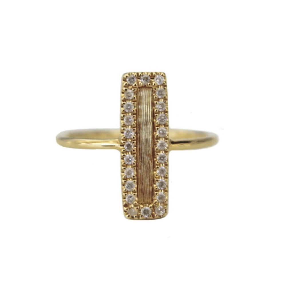 Hollie Mini Ring Yellow Gold