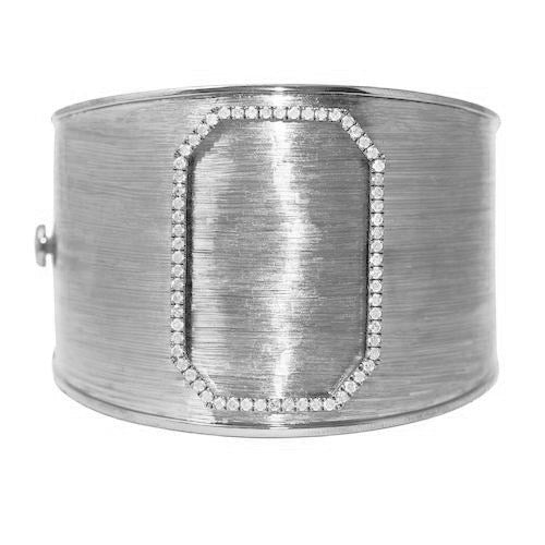 Tobi Cuff in White Gold
